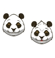 Funny chinese panda bear mascot vector | Price: 1 Credit (USD $1)