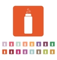 The Liquid Soap Lotion Cream Shampoo icon vector image vector image