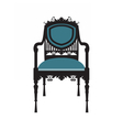 Vintage Chair furniture vector image vector image