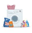 Washing set vector image vector image