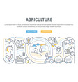 website banner and landing page agriculture
