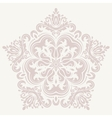 Damask Pattern Orient Ornament vector image