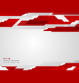 abstract of futuristic gradient red stripe line vector image vector image
