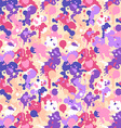Abstract watercolor seamless pattern vector image