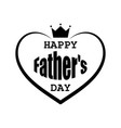 fathers day postcard in retro style vector image vector image