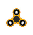 flat hand spinner vector image