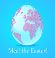 Meet the Easter vector image