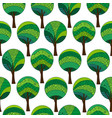 patterned trees seamless pattern vector image vector image