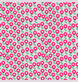seamless retro floral pattern for fabric textile vector image vector image