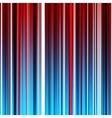 Abstract striped red and blue background vector image vector image