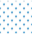 blue balloon pattern vector image vector image