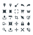 Design and Development Cool Icons 6 vector image vector image