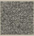 doodle pixels deep gray texture vector image vector image