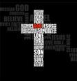 hand drawn cross grunge cross christian symbol vector image