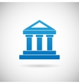 Law Court Bank House Symbol Justice Finance Icon vector image
