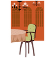 Luxury Dining Room vector image vector image