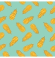 modern stylized pineaples seamless pattern vector image vector image