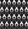 Symmetrical abstract pattern vector image