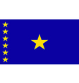 Congo democratic Republic vector image