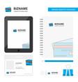 credit card business logo tab app diary pvc vector image vector image