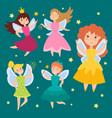 Fairy princess adorable characters imagination