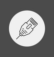 lan cable icon sign symbol vector image