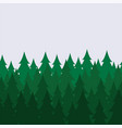 pine forest seamless background pattern abstract vector image vector image