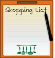 Shopping List vector image vector image