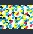 abstract geometric pattern with drops vector image vector image