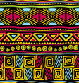 afrikan seamless pattern vector image vector image