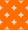 arrows target pattern seamless vector image vector image