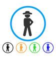 gentleman audacity rounded icon