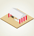 Isometric fukubiki lottery vector | Price: 1 Credit (USD $1)