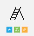 of instrument symbol on ladder vector image