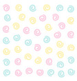 soft color swirl pattern background vector image vector image