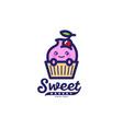 sweet bakery logo vector image