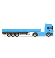 truck semi trailer 02 vector image vector image