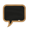 black rounded chalkboard vector image