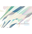 abstract colors spikes scene design vector image vector image