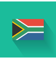 flat flag south africa vector image vector image