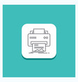 round button for digital printer printing vector image