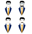 Set of the icons men vector image vector image