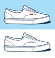 sport shoe vector image vector image