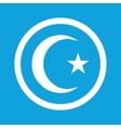 Turkey symbol sign icon vector image vector image