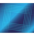 Abstract blue squares background vector image vector image