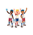 footballer symbol football team icon vector image vector image
