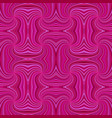 pink hypnotic abstract seamless striped spiral vector image vector image