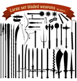 A large set bladed weapons vector | Price: 1 Credit (USD $1)