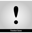 Attention sign icon vector image vector image