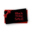 black friday sale background vector image vector image